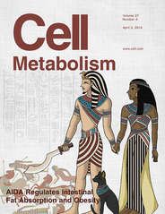 Research team led by Prof. Lin Shengcai publishes cover article in Cell Metabolism