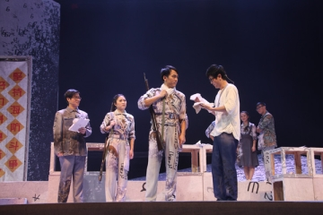 """Goldbach Conjecture"" won the prize for excellent play at the fourth China Campus Theatre Festival"