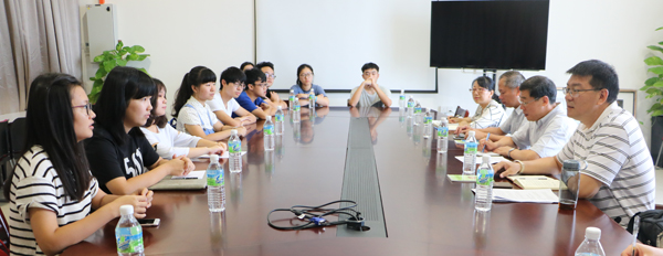 XMU vice president heads delegation on visit to XMUMC