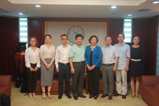 XMU officials meet with delegation of University of Nottingham Ningbo China