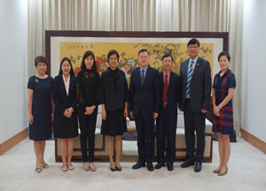 President Zhang Rong Meets the Consul General of the Consulate General of Thailand in Xiamen